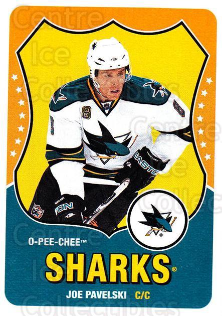 2010-11 O-Pee-Chee Retro #335 Joe Pavelski<br/>2 In Stock - $2.00 each - <a href=https://centericecollectibles.foxycart.com/cart?name=2010-11%20O-Pee-Chee%20Retro%20%23335%20Joe%20Pavelski...&quantity_max=2&price=$2.00&code=658064 class=foxycart> Buy it now! </a>