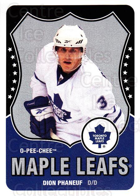 2010-11 O-Pee-Chee Retro #337 Dion Phaneuf<br/>1 In Stock - $2.00 each - <a href=https://centericecollectibles.foxycart.com/cart?name=2010-11%20O-Pee-Chee%20Retro%20%23337%20Dion%20Phaneuf...&price=$2.00&code=658066 class=foxycart> Buy it now! </a>