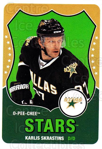 2010-11 O-Pee-Chee Retro #354 Karlis Skrastins<br/>2 In Stock - $2.00 each - <a href=https://centericecollectibles.foxycart.com/cart?name=2010-11%20O-Pee-Chee%20Retro%20%23354%20Karlis%20Skrastin...&quantity_max=2&price=$2.00&code=658083 class=foxycart> Buy it now! </a>