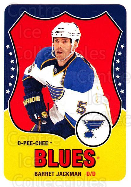 2010-11 O-Pee-Chee Retro #357 Barret Jackman<br/>3 In Stock - $2.00 each - <a href=https://centericecollectibles.foxycart.com/cart?name=2010-11%20O-Pee-Chee%20Retro%20%23357%20Barret%20Jackman...&quantity_max=3&price=$2.00&code=658086 class=foxycart> Buy it now! </a>