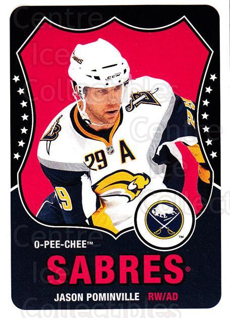 2010-11 O-Pee-Chee Retro #365 Jason Pominville<br/>3 In Stock - $2.00 each - <a href=https://centericecollectibles.foxycart.com/cart?name=2010-11%20O-Pee-Chee%20Retro%20%23365%20Jason%20Pominvill...&quantity_max=3&price=$2.00&code=658094 class=foxycart> Buy it now! </a>