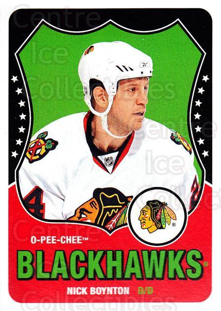 2010-11 O-Pee-Chee Retro #367 Nick Boynton<br/>1 In Stock - $2.00 each - <a href=https://centericecollectibles.foxycart.com/cart?name=2010-11%20O-Pee-Chee%20Retro%20%23367%20Nick%20Boynton...&quantity_max=1&price=$2.00&code=658096 class=foxycart> Buy it now! </a>