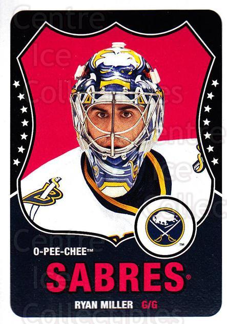 2010-11 O-Pee-Chee Retro #394 Ryan Miller<br/>2 In Stock - $2.00 each - <a href=https://centericecollectibles.foxycart.com/cart?name=2010-11%20O-Pee-Chee%20Retro%20%23394%20Ryan%20Miller...&quantity_max=2&price=$2.00&code=658123 class=foxycart> Buy it now! </a>