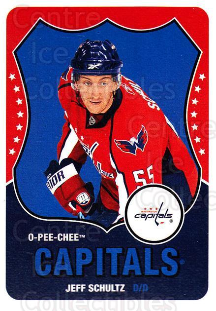 2010-11 O-Pee-Chee Retro #458 Jeff Schultz<br/>3 In Stock - $2.00 each - <a href=https://centericecollectibles.foxycart.com/cart?name=2010-11%20O-Pee-Chee%20Retro%20%23458%20Jeff%20Schultz...&quantity_max=3&price=$2.00&code=658187 class=foxycart> Buy it now! </a>
