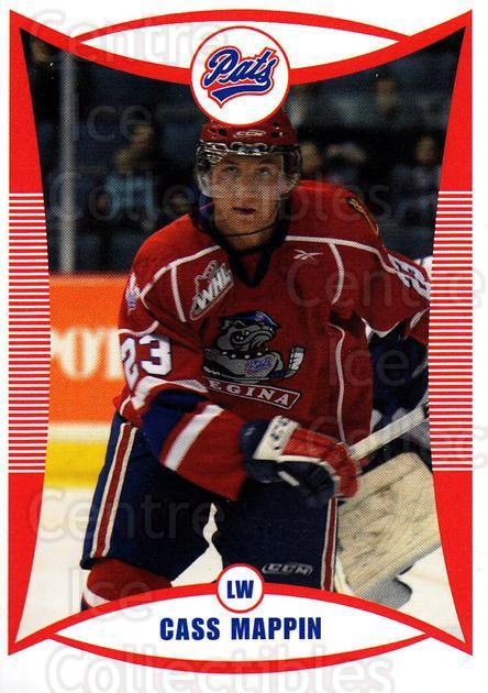 2009-10 Regina Pats #27 Cassidy Mappin<br/>17 In Stock - $3.00 each - <a href=https://centericecollectibles.foxycart.com/cart?name=2009-10%20Regina%20Pats%20%2327%20Cassidy%20Mappin...&price=$3.00&code=658382 class=foxycart> Buy it now! </a>