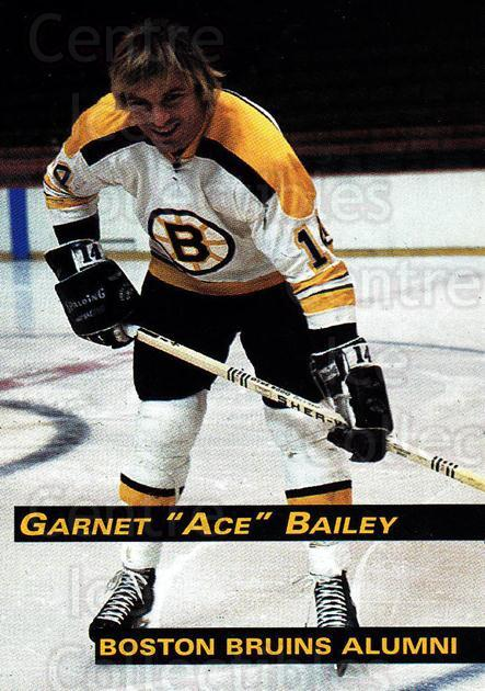 1998-99 Boston Bruins Alumni #18 Garnet Bailey<br/>5 In Stock - $3.00 each - <a href=https://centericecollectibles.foxycart.com/cart?name=1998-99%20Boston%20Bruins%20Alumni%20%2318%20Garnet%20Bailey...&quantity_max=5&price=$3.00&code=658504 class=foxycart> Buy it now! </a>