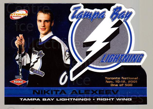 2001 Atomic Toronto Expo #124 Nikita Alexeev<br/>1 In Stock - $5.00 each - <a href=https://centericecollectibles.foxycart.com/cart?name=2001%20Atomic%20Toronto%20Expo%20%23124%20Nikita%20Alexeev...&quantity_max=1&price=$5.00&code=658678 class=foxycart> Buy it now! </a>