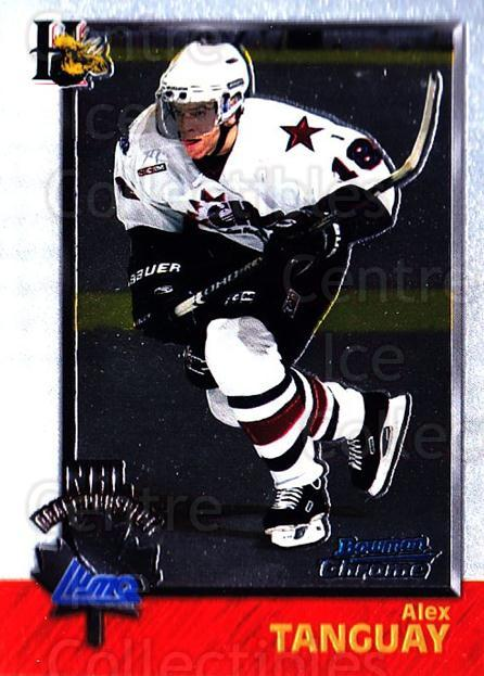 1998 Bowman CHL Chrome #152 Alex Tanguay<br/>10 In Stock - $1.00 each - <a href=https://centericecollectibles.foxycart.com/cart?name=1998%20Bowman%20CHL%20Chrome%20%23152%20Alex%20Tanguay...&quantity_max=10&price=$1.00&code=65869 class=foxycart> Buy it now! </a>
