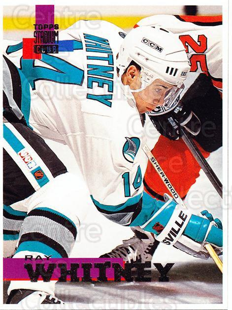 1994-95 Stadium Club Proof #149 Ray Whitney<br/>1 In Stock - $10.00 each - <a href=https://centericecollectibles.foxycart.com/cart?name=1994-95%20Stadium%20Club%20Proof%20%23149%20Ray%20Whitney...&quantity_max=1&price=$10.00&code=658839 class=foxycart> Buy it now! </a>