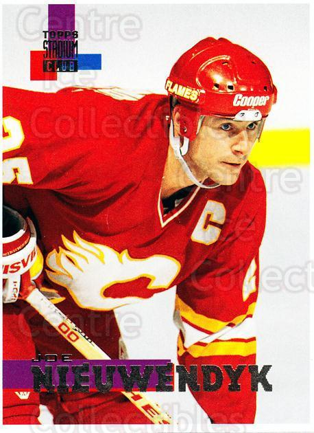 1994-95 Stadium Club Proof #166 Joe Nieuwendyk<br/>1 In Stock - $10.00 each - <a href=https://centericecollectibles.foxycart.com/cart?name=1994-95%20Stadium%20Club%20Proof%20%23166%20Joe%20Nieuwendyk...&quantity_max=1&price=$10.00&code=658856 class=foxycart> Buy it now! </a>
