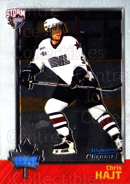 1998 Bowman CHL Chrome #2 Chris Hajt<br/>10 In Stock - $1.00 each - <a href=https://centericecollectibles.foxycart.com/cart?name=1998%20Bowman%20CHL%20Chrome%20%232%20Chris%20Hajt...&quantity_max=10&price=$1.00&code=65885 class=foxycart> Buy it now! </a>
