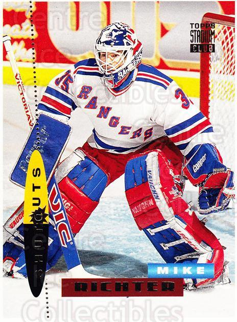1994-95 Stadium Club Proof #181 Mike Richter<br/>1 In Stock - $10.00 each - <a href=https://centericecollectibles.foxycart.com/cart?name=1994-95%20Stadium%20Club%20Proof%20%23181%20Mike%20Richter...&quantity_max=1&price=$10.00&code=658871 class=foxycart> Buy it now! </a>