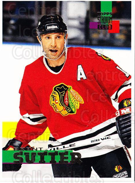 1994-95 Stadium Club Proof #218 Brent Sutter<br/>1 In Stock - $10.00 each - <a href=https://centericecollectibles.foxycart.com/cart?name=1994-95%20Stadium%20Club%20Proof%20%23218%20Brent%20Sutter...&quantity_max=1&price=$10.00&code=658908 class=foxycart> Buy it now! </a>