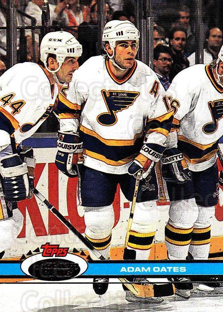 1991-92 Stadium Club Proof #108 Adam Oates<br/>1 In Stock - $10.00 each - <a href=https://centericecollectibles.foxycart.com/cart?name=1991-92%20Stadium%20Club%20Proof%20%23108%20Adam%20Oates...&quantity_max=1&price=$10.00&code=659094 class=foxycart> Buy it now! </a>