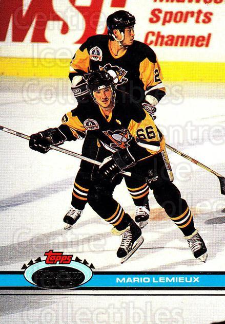 1991-92 Stadium Club Proof #174 Mario Lemieux<br/>1 In Stock - $60.00 each - <a href=https://centericecollectibles.foxycart.com/cart?name=1991-92%20Stadium%20Club%20Proof%20%23174%20Mario%20Lemieux...&price=$60.00&code=659160 class=foxycart> Buy it now! </a>