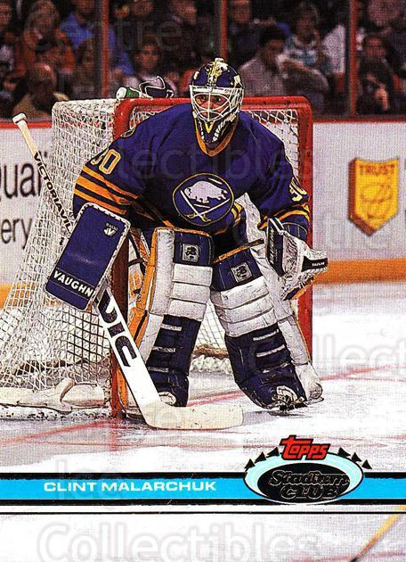1991-92 Stadium Club Proof #251 Clint Malarchuk<br/>1 In Stock - $10.00 each - <a href=https://centericecollectibles.foxycart.com/cart?name=1991-92%20Stadium%20Club%20Proof%20%23251%20Clint%20Malarchuk...&quantity_max=1&price=$10.00&code=659237 class=foxycart> Buy it now! </a>
