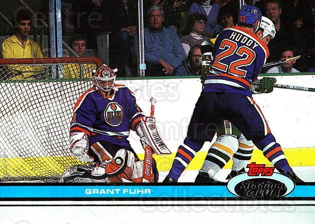 1991-92 Stadium Club Proof #258 Grant Fuhr<br/>1 In Stock - $10.00 each - <a href=https://centericecollectibles.foxycart.com/cart?name=1991-92%20Stadium%20Club%20Proof%20%23258%20Grant%20Fuhr...&quantity_max=1&price=$10.00&code=659244 class=foxycart> Buy it now! </a>