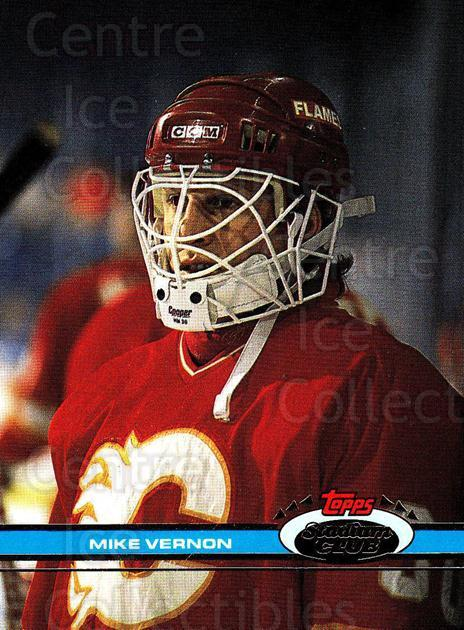 1991-92 Stadium Club Proof #269 Mike Vernon<br/>1 In Stock - $10.00 each - <a href=https://centericecollectibles.foxycart.com/cart?name=1991-92%20Stadium%20Club%20Proof%20%23269%20Mike%20Vernon...&quantity_max=1&price=$10.00&code=659255 class=foxycart> Buy it now! </a>