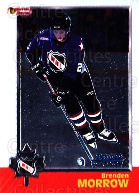 1998 Bowman CHL Chrome #60 Brenden Morrow<br/>10 In Stock - $1.00 each - <a href=https://centericecollectibles.foxycart.com/cart?name=1998%20Bowman%20CHL%20Chrome%20%2360%20Brenden%20Morrow...&quantity_max=10&price=$1.00&code=65929 class=foxycart> Buy it now! </a>