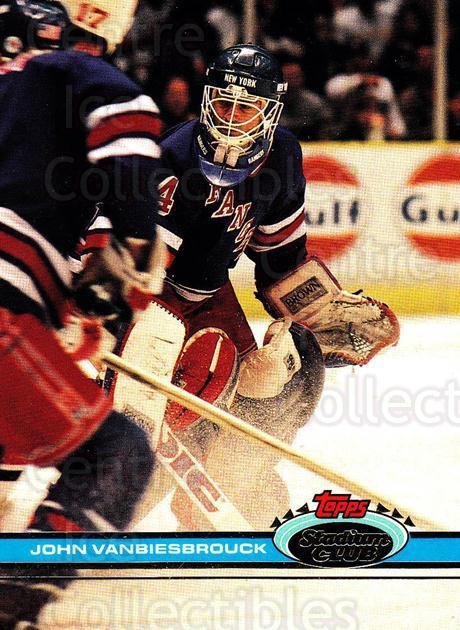 1991-92 Stadium Club Proof #323 John Vanbiesbrouck<br/>1 In Stock - $15.00 each - <a href=https://centericecollectibles.foxycart.com/cart?name=1991-92%20Stadium%20Club%20Proof%20%23323%20John%20Vanbiesbro...&quantity_max=1&price=$15.00&code=659309 class=foxycart> Buy it now! </a>