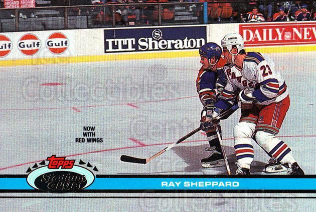 1991-92 Stadium Club Proof #381 Ray Sheppard<br/>1 In Stock - $10.00 each - <a href=https://centericecollectibles.foxycart.com/cart?name=1991-92%20Stadium%20Club%20Proof%20%23381%20Ray%20Sheppard...&quantity_max=1&price=$10.00&code=659367 class=foxycart> Buy it now! </a>