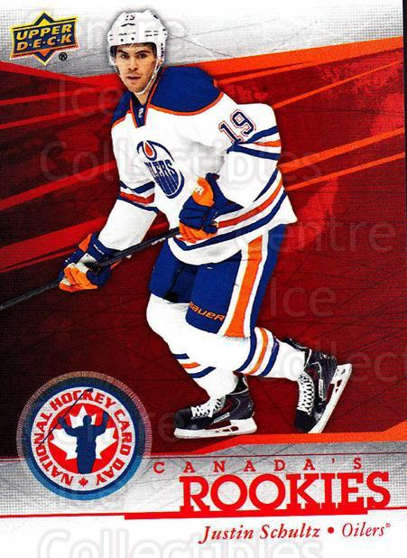 2014 Upper Deck National Hockey Card Day Canada #7 Justin Schultz<br/>9 In Stock - $2.00 each - <a href=https://centericecollectibles.foxycart.com/cart?name=2014%20Upper%20Deck%20National%20Hockey%20Card%20Day%20Canada%20%237%20Justin%20Schultz...&quantity_max=9&price=$2.00&code=659397 class=foxycart> Buy it now! </a>