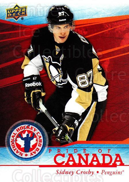 2014 Upper Deck National Hockey Card Day Canada #12 Sidney Crosby<br/>8 In Stock - $3.00 each - <a href=https://centericecollectibles.foxycart.com/cart?name=2014%20Upper%20Deck%20National%20Hockey%20Card%20Day%20Canada%20%2312%20Sidney%20Crosby...&price=$3.00&code=659402 class=foxycart> Buy it now! </a>