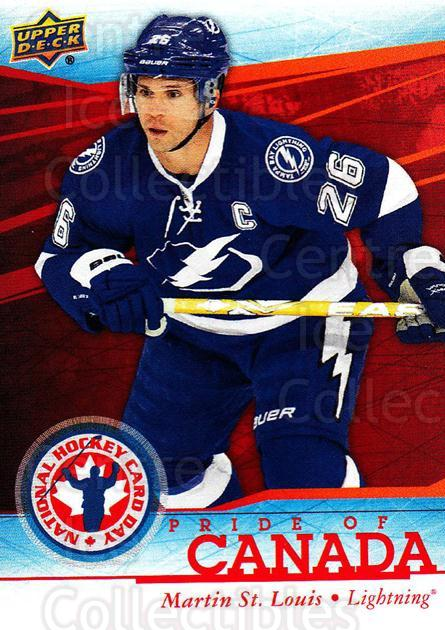 2014 Upper Deck National Hockey Card Day Canada #13 Martin St. Louis<br/>10 In Stock - $2.00 each - <a href=https://centericecollectibles.foxycart.com/cart?name=2014%20Upper%20Deck%20National%20Hockey%20Card%20Day%20Canada%20%2313%20Martin%20St.%20Loui...&quantity_max=10&price=$2.00&code=659403 class=foxycart> Buy it now! </a>