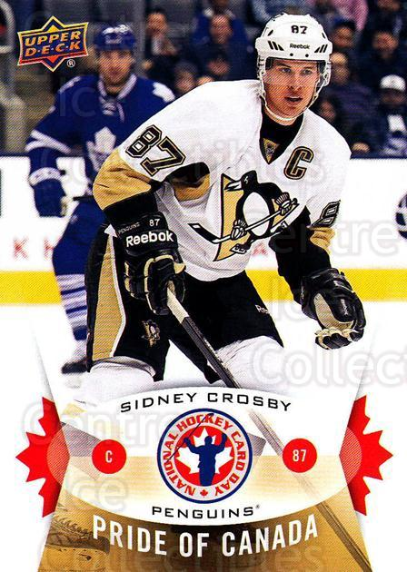 2015 Upper Deck National Hockey Card Day Canada #1 Sidney Crosby<br/>6 In Stock - $3.00 each - <a href=https://centericecollectibles.foxycart.com/cart?name=2015%20Upper%20Deck%20National%20Hockey%20Card%20Day%20Canada%20%231%20Sidney%20Crosby...&quantity_max=6&price=$3.00&code=659413 class=foxycart> Buy it now! </a>