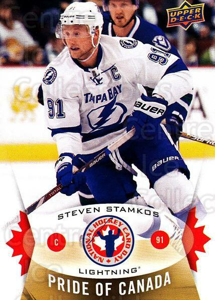 2015 Upper Deck National Hockey Card Day Canada #2 Steven Stamkos<br/>5 In Stock - $2.00 each - <a href=https://centericecollectibles.foxycart.com/cart?name=2015%20Upper%20Deck%20National%20Hockey%20Card%20Day%20Canada%20%232%20Steven%20Stamkos...&price=$2.00&code=659414 class=foxycart> Buy it now! </a>