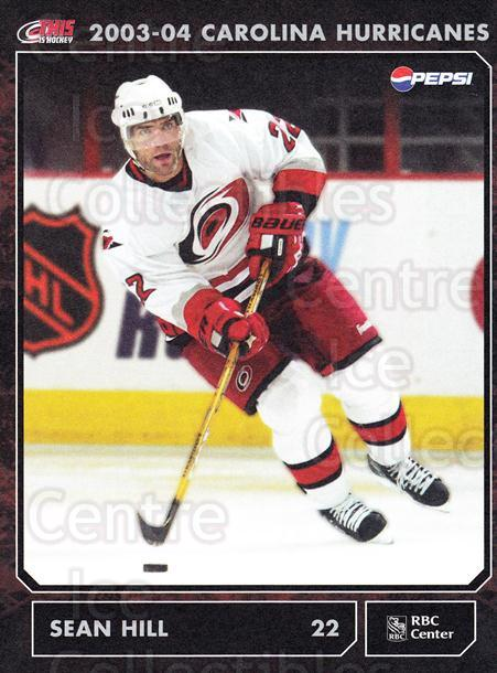 2003-04 Carolina Hurricanes Postcards #10 Sean Hill<br/>1 In Stock - $3.00 each - <a href=https://centericecollectibles.foxycart.com/cart?name=2003-04%20Carolina%20Hurricanes%20Postcards%20%2310%20Sean%20Hill...&quantity_max=1&price=$3.00&code=659470 class=foxycart> Buy it now! </a>