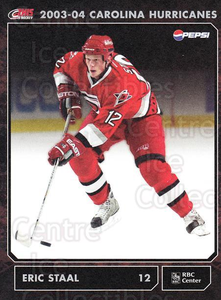2003-04 Carolina Hurricanes Postcards #16 Eric Staal<br/>2 In Stock - $3.00 each - <a href=https://centericecollectibles.foxycart.com/cart?name=2003-04%20Carolina%20Hurricanes%20Postcards%20%2316%20Eric%20Staal...&quantity_max=2&price=$3.00&code=659476 class=foxycart> Buy it now! </a>