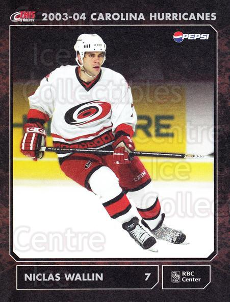 2003-04 Carolina Hurricanes Postcards #21 Niclas Wallin<br/>3 In Stock - $3.00 each - <a href=https://centericecollectibles.foxycart.com/cart?name=2003-04%20Carolina%20Hurricanes%20Postcards%20%2321%20Niclas%20Wallin...&quantity_max=3&price=$3.00&code=659481 class=foxycart> Buy it now! </a>