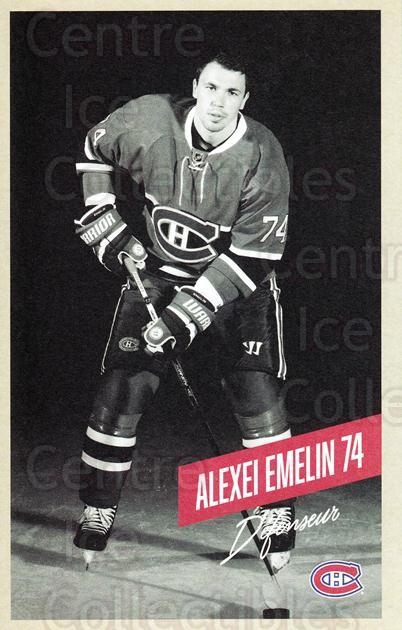 2015-16 Montreal Canadiens Postcards #7 Alexei Emelin<br/>4 In Stock - $3.00 each - <a href=https://centericecollectibles.foxycart.com/cart?name=2015-16%20Montreal%20Canadiens%20Postcards%20%237%20Alexei%20Emelin...&quantity_max=4&price=$3.00&code=659491 class=foxycart> Buy it now! </a>