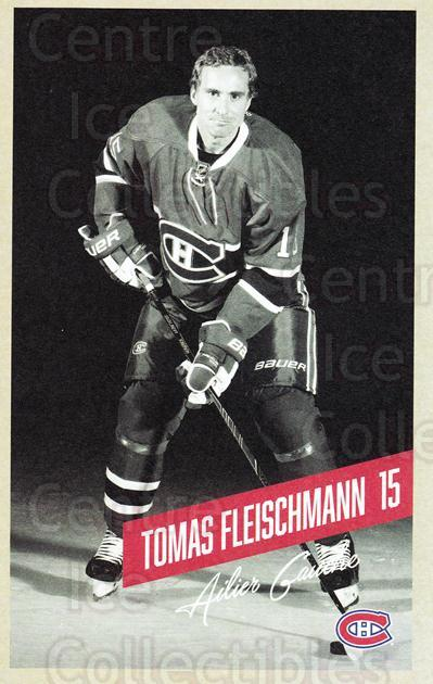 2015-16 Montreal Canadiens Postcards #8 Tomas Fleischmann<br/>4 In Stock - $3.00 each - <a href=https://centericecollectibles.foxycart.com/cart?name=2015-16%20Montreal%20Canadiens%20Postcards%20%238%20Tomas%20Fleischma...&quantity_max=4&price=$3.00&code=659492 class=foxycart> Buy it now! </a>