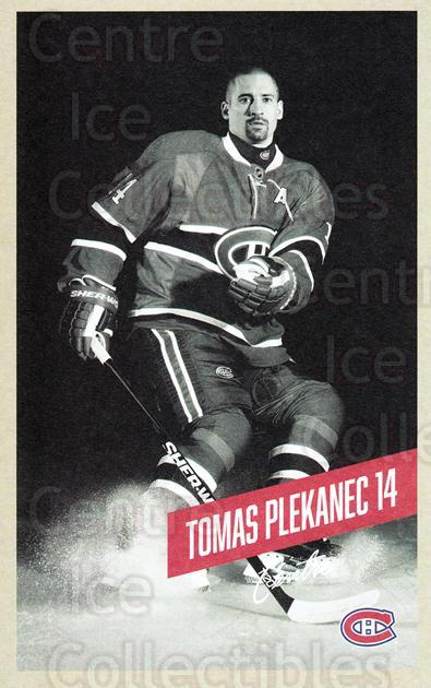 2015-16 Montreal Canadiens Postcards #19 Tomas Plekanec<br/>3 In Stock - $3.00 each - <a href=https://centericecollectibles.foxycart.com/cart?name=2015-16%20Montreal%20Canadiens%20Postcards%20%2319%20Tomas%20Plekanec...&quantity_max=3&price=$3.00&code=659503 class=foxycart> Buy it now! </a>