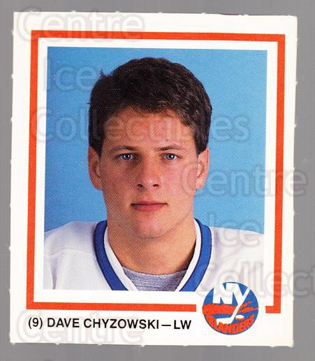 1989-90 New York Islanders Team Issue #3 Dave Chyzowski<br/>1 In Stock - $3.00 each - <a href=https://centericecollectibles.foxycart.com/cart?name=1989-90%20New%20York%20Islanders%20Team%20Issue%20%233%20Dave%20Chyzowski...&quantity_max=1&price=$3.00&code=659630 class=foxycart> Buy it now! </a>