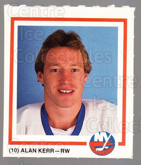 1989-90 New York Islanders Team Issue #10 Alan Kerr<br/>1 In Stock - $3.00 each - <a href=https://centericecollectibles.foxycart.com/cart?name=1989-90%20New%20York%20Islanders%20Team%20Issue%20%2310%20Alan%20Kerr...&quantity_max=1&price=$3.00&code=659637 class=foxycart> Buy it now! </a>