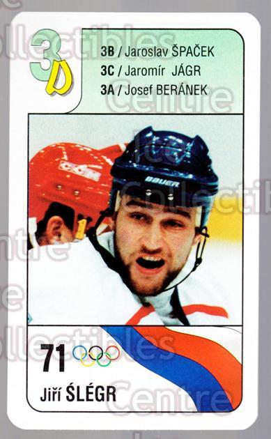 1998-99 Czech Bonaparte National Team #3D Jiri Slegr<br/>6 In Stock - $2.00 each - <a href=https://centericecollectibles.foxycart.com/cart?name=1998-99%20Czech%20Bonaparte%20National%20Team%20%233D%20Jiri%20Slegr...&quantity_max=6&price=$2.00&code=65974 class=foxycart> Buy it now! </a>