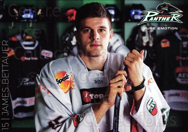2015-16 German Augsburg Panthers Postcards #1 James Bettauer<br/>2 In Stock - $3.00 each - <a href=https://centericecollectibles.foxycart.com/cart?name=2015-16%20German%20Augsburg%20Panthers%20Postcards%20%231%20James%20Bettauer...&quantity_max=2&price=$3.00&code=659757 class=foxycart> Buy it now! </a>