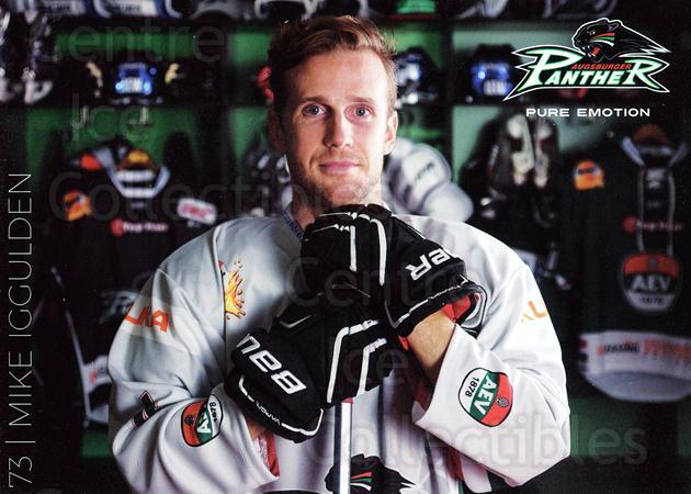 2015-16 German Augsburg Panthers Postcards #9 Mike Iggulden<br/>1 In Stock - $3.00 each - <a href=https://centericecollectibles.foxycart.com/cart?name=2015-16%20German%20Augsburg%20Panthers%20Postcards%20%239%20Mike%20Iggulden...&quantity_max=1&price=$3.00&code=659765 class=foxycart> Buy it now! </a>
