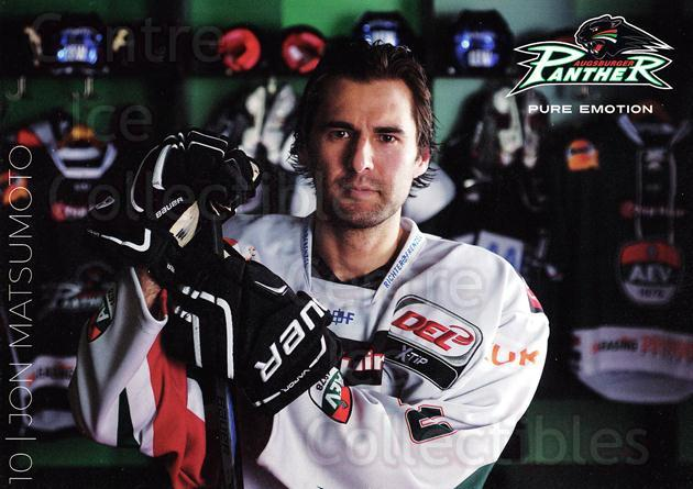 2015-16 German Augsburg Panthers Postcards #17 Jon Matsumoto<br/>1 In Stock - $3.00 each - <a href=https://centericecollectibles.foxycart.com/cart?name=2015-16%20German%20Augsburg%20Panthers%20Postcards%20%2317%20Jon%20Matsumoto...&quantity_max=1&price=$3.00&code=659773 class=foxycart> Buy it now! </a>