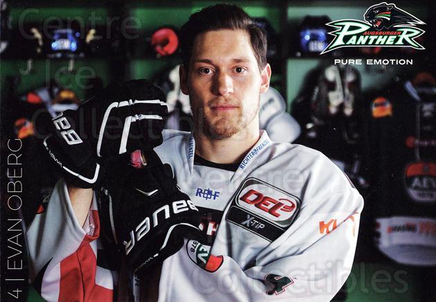 2015-16 German Augsburg Panthers Postcards #20 Evan Oberg<br/>2 In Stock - $3.00 each - <a href=https://centericecollectibles.foxycart.com/cart?name=2015-16%20German%20Augsburg%20Panthers%20Postcards%20%2320%20Evan%20Oberg...&quantity_max=2&price=$3.00&code=659776 class=foxycart> Buy it now! </a>