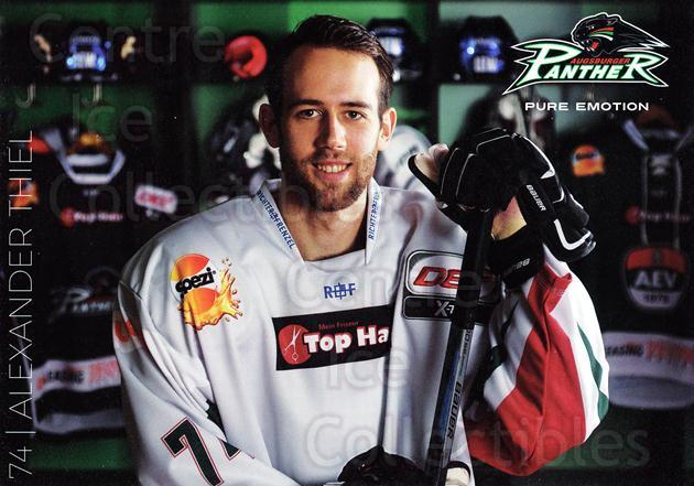 2015-16 German Augsburg Panthers Postcards #25 Alexander Thiel<br/>2 In Stock - $3.00 each - <a href=https://centericecollectibles.foxycart.com/cart?name=2015-16%20German%20Augsburg%20Panthers%20Postcards%20%2325%20Alexander%20Thiel...&quantity_max=2&price=$3.00&code=659781 class=foxycart> Buy it now! </a>