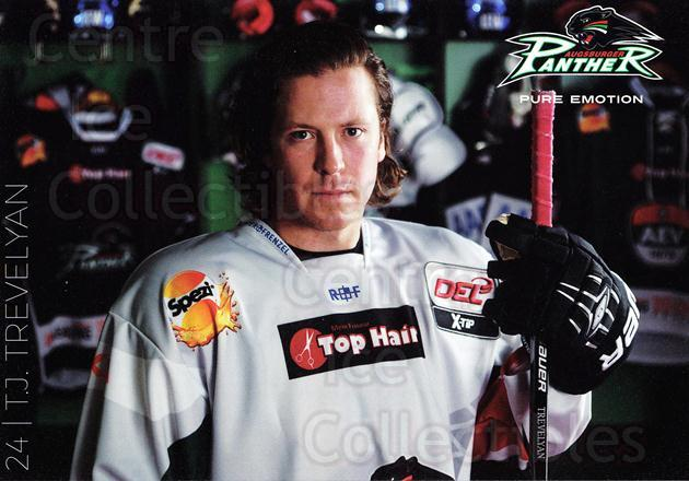 2015-16 German Augsburg Panthers Postcards #27 TJ Trevelyan<br/>2 In Stock - $3.00 each - <a href=https://centericecollectibles.foxycart.com/cart?name=2015-16%20German%20Augsburg%20Panthers%20Postcards%20%2327%20TJ%20Trevelyan...&quantity_max=2&price=$3.00&code=659783 class=foxycart> Buy it now! </a>