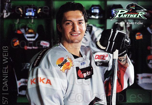 2015-16 German Augsburg Panthers Postcards #28 Daniel Weiss<br/>1 In Stock - $3.00 each - <a href=https://centericecollectibles.foxycart.com/cart?name=2015-16%20German%20Augsburg%20Panthers%20Postcards%20%2328%20Daniel%20Weiss...&quantity_max=1&price=$3.00&code=659784 class=foxycart> Buy it now! </a>