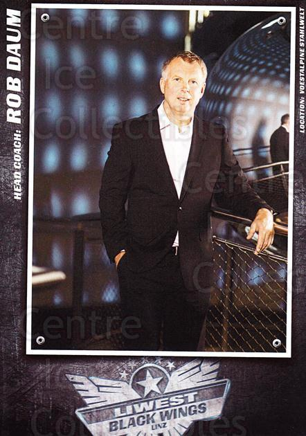 2015-16 EBEL EHC Liwest Black Wings Linz Postcards #3 Rob Daum<br/>2 In Stock - $3.00 each - <a href=https://centericecollectibles.foxycart.com/cart?name=2015-16%20EBEL%20EHC%20Liwest%20Black%20Wings%20Linz%20Postcards%20%233%20Rob%20Daum...&quantity_max=2&price=$3.00&code=659787 class=foxycart> Buy it now! </a>