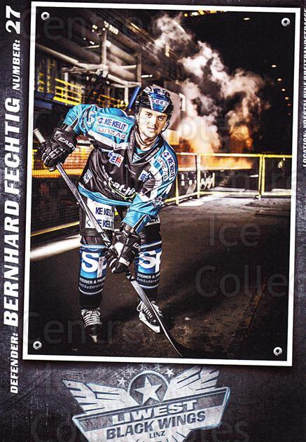 2015-16 EBEL EHC Liwest Black Wings Linz Postcards #6 Bernhard Fechtig<br/>2 In Stock - $3.00 each - <a href=https://centericecollectibles.foxycart.com/cart?name=2015-16%20EBEL%20EHC%20Liwest%20Black%20Wings%20Linz%20Postcards%20%236%20Bernhard%20Fechti...&quantity_max=2&price=$3.00&code=659790 class=foxycart> Buy it now! </a>