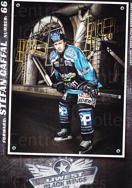 2015-16 EBEL EHC Liwest Black Wings Linz Postcards #8 Stefan Gaffal<br/>2 In Stock - $3.00 each - <a href=https://centericecollectibles.foxycart.com/cart?name=2015-16%20EBEL%20EHC%20Liwest%20Black%20Wings%20Linz%20Postcards%20%238%20Stefan%20Gaffal...&quantity_max=2&price=$3.00&code=659792 class=foxycart> Buy it now! </a>