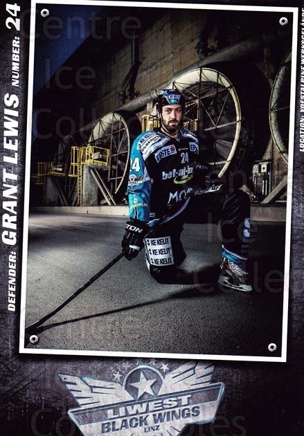 2015-16 EBEL EHC Liwest Black Wings Linz Postcards #16 Grant Lewis<br/>2 In Stock - $3.00 each - <a href=https://centericecollectibles.foxycart.com/cart?name=2015-16%20EBEL%20EHC%20Liwest%20Black%20Wings%20Linz%20Postcards%20%2316%20Grant%20Lewis...&quantity_max=2&price=$3.00&code=659800 class=foxycart> Buy it now! </a>